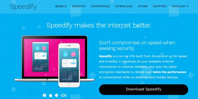 Best-Free-VPN-2017-Speedify-Screenshot-GetFastVPN